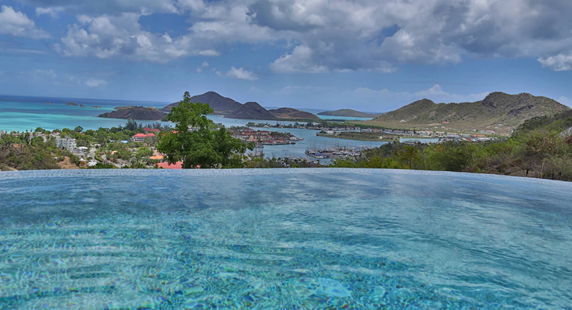 Luxury Villas in Antigua with sea views