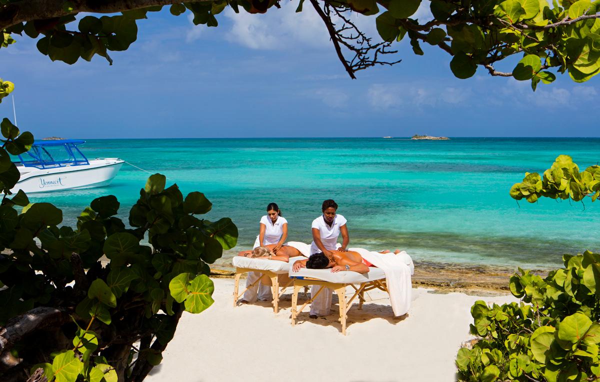 Jumby Bay Spa Antigua
