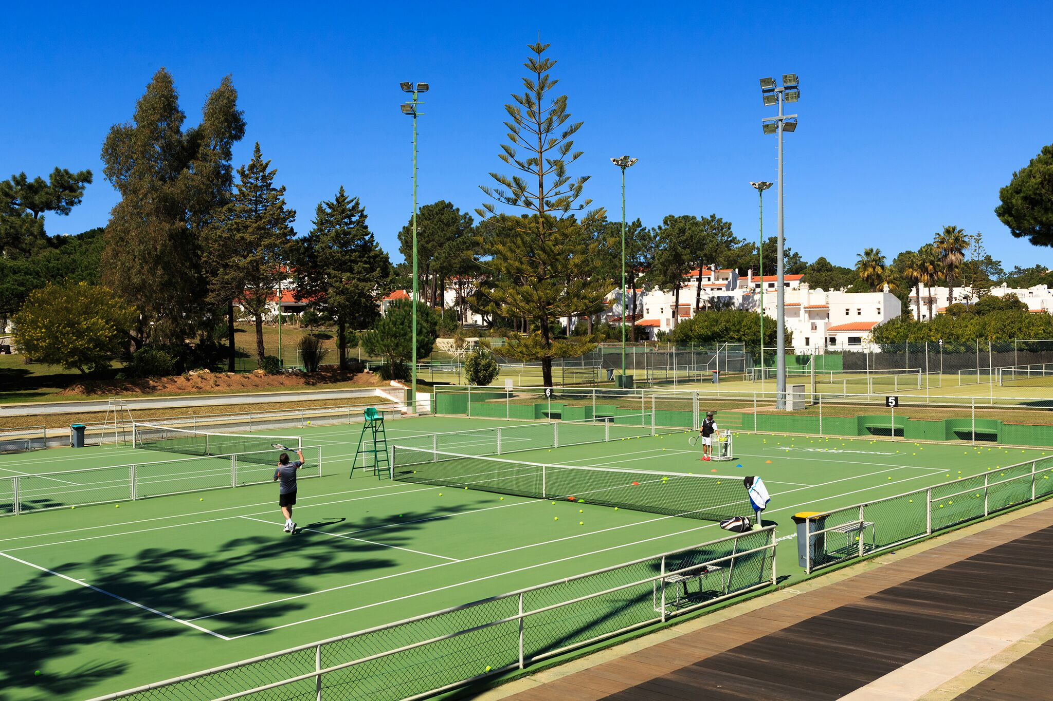 tennis academy in the Algarve