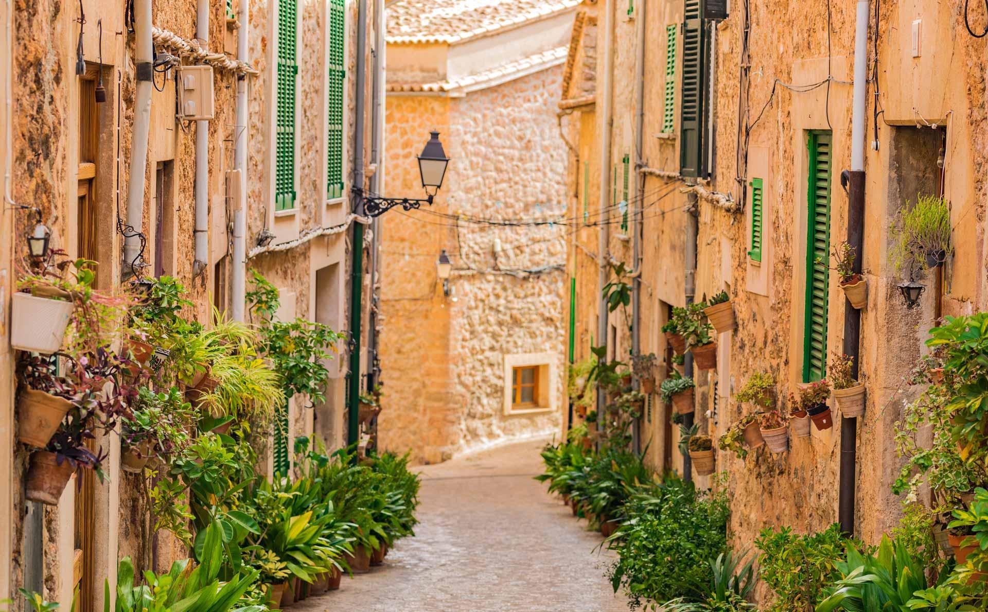 Deia Mallorca Streets