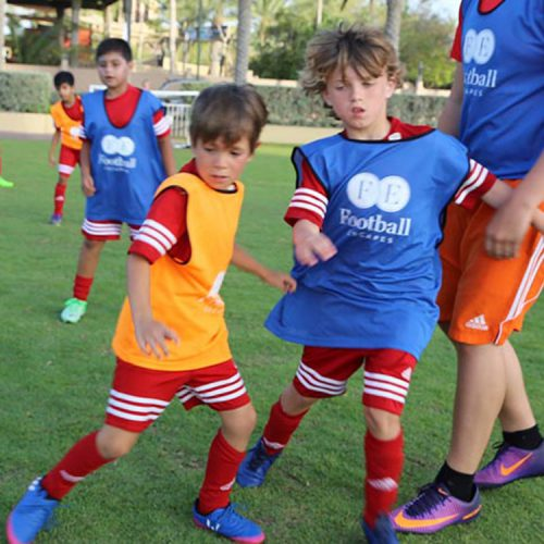 Hire a Luxury Villa with football coaching camps for the children