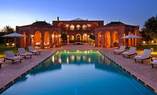 Morrocan luxury villas